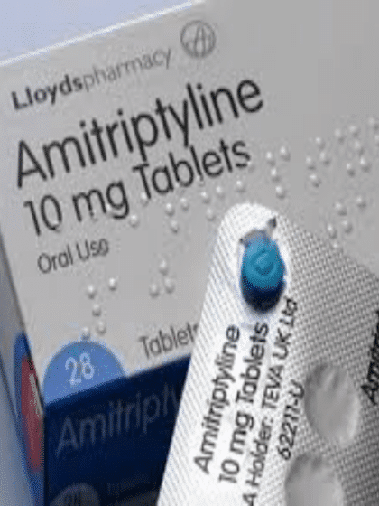 Amitriptyline-tabletten